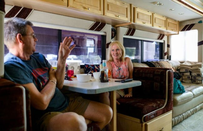 One million Americans live full-time in RVs 'Modern nomads'