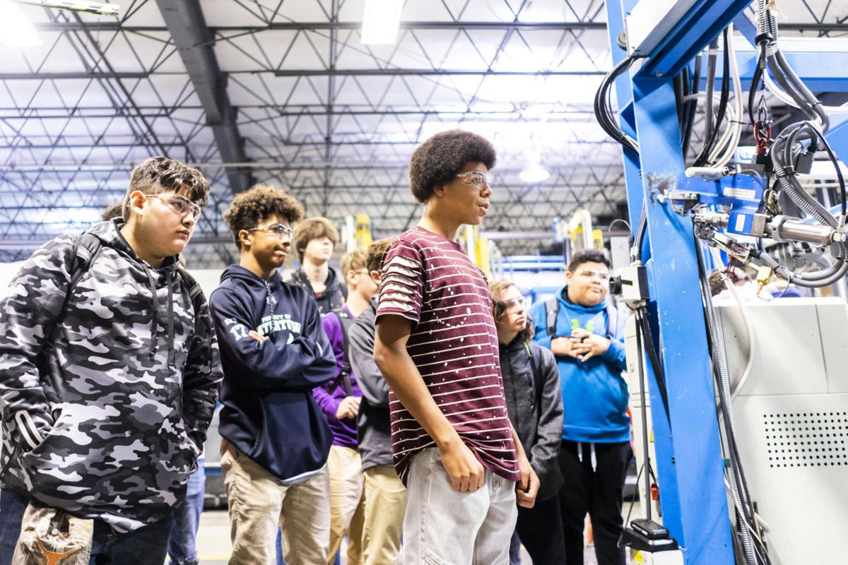 Students learn the tools of trade careers