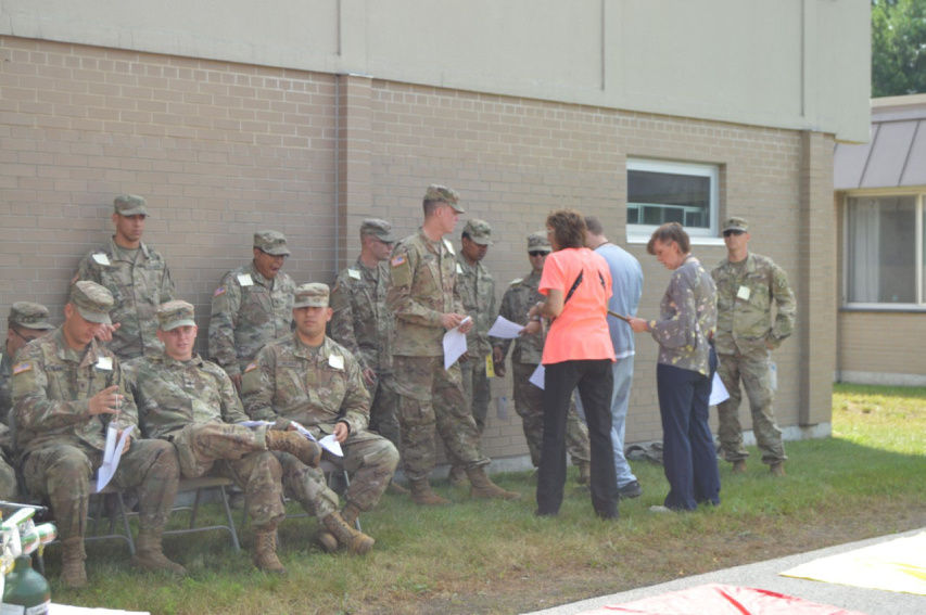 Mock incident sends soldiers to area hospitals