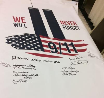 Legion plans 9/11 remembrance