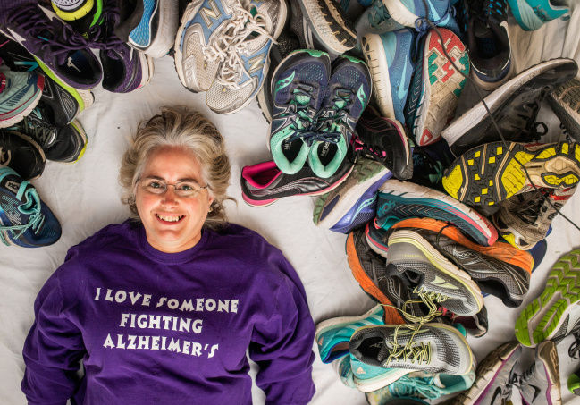 Sneaker drive to aid Alzheimer's fight
