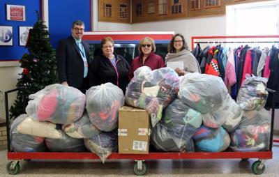 Massena Hospital donates clothing to school district