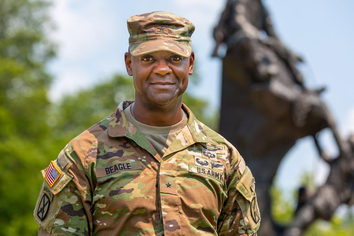 Commander welcomes familiar ties