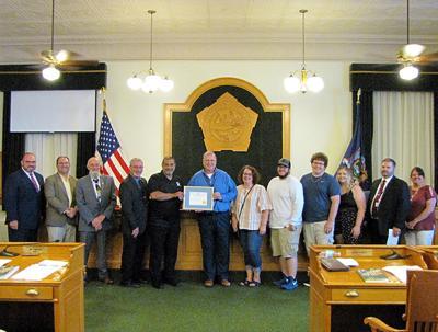 Oswego County Legislature recognizes Steve Loadwick