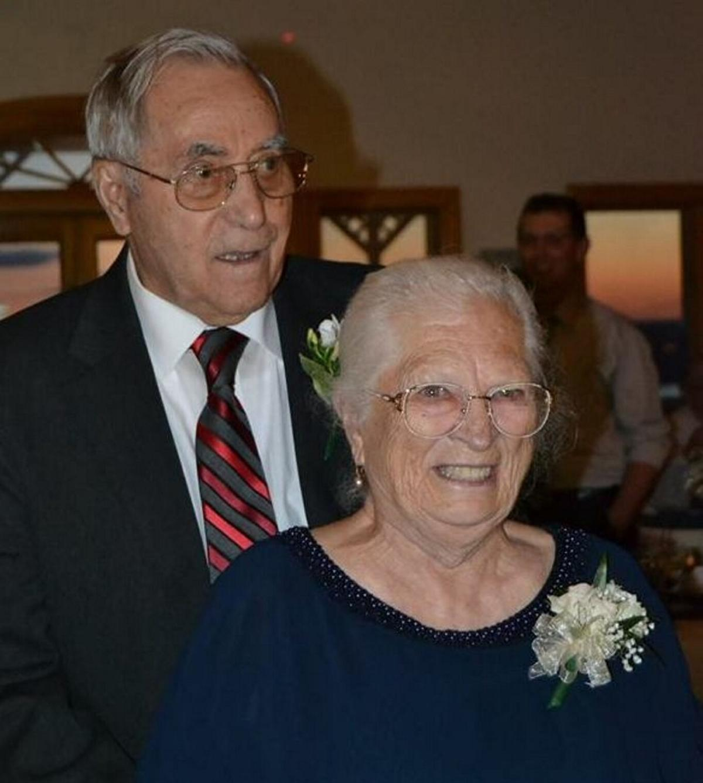 Joan and Julius Guignard, 70 years