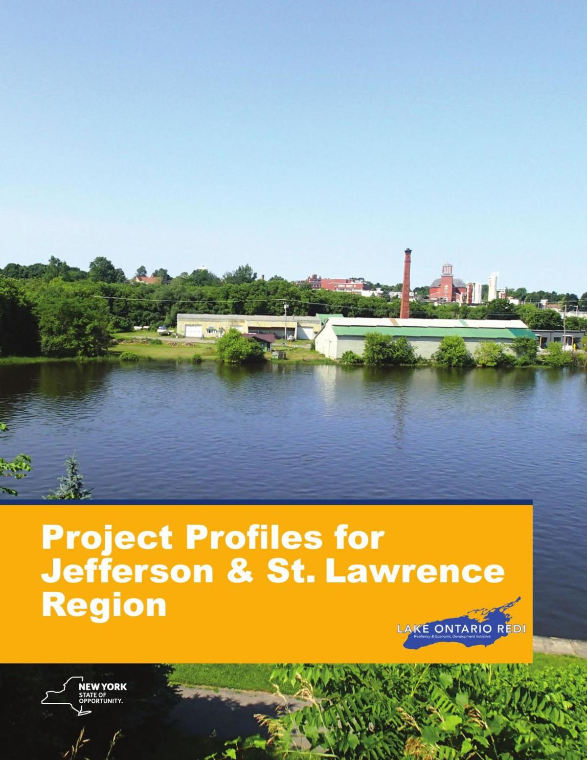 Project profiles for Jefferson & St. Lawrence Region