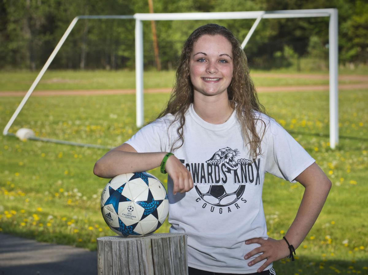 Abby Hart Edwards-Knox Senior Striker