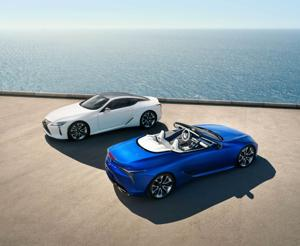 The 2021 Lexus LC 500 Convertible is the perfect social distancing tool.