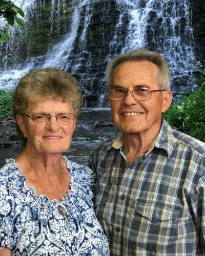 Shirley and Lyle Jantzi Sr., 60 years