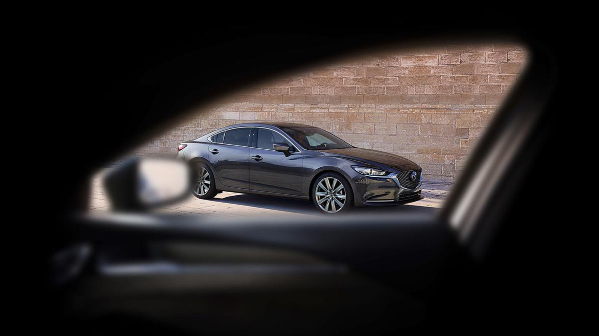 NEW SAFETY STANDARD Mazda6 sedan gets updates for 2019, including advanced safety technology