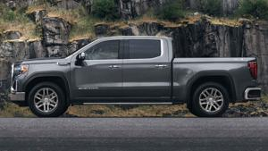GM builds trucks without fuel management due to chip shortage.