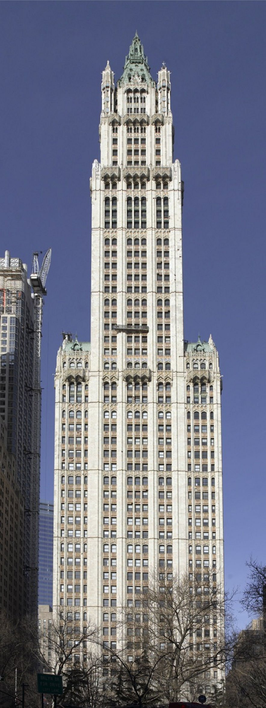 The sky's the limit Five-and-dime magnate planned Woolworth