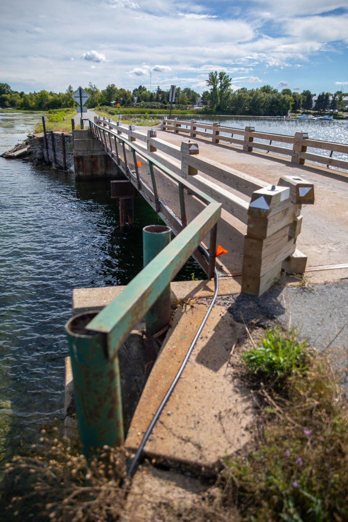 Bridge shows more structural concerns