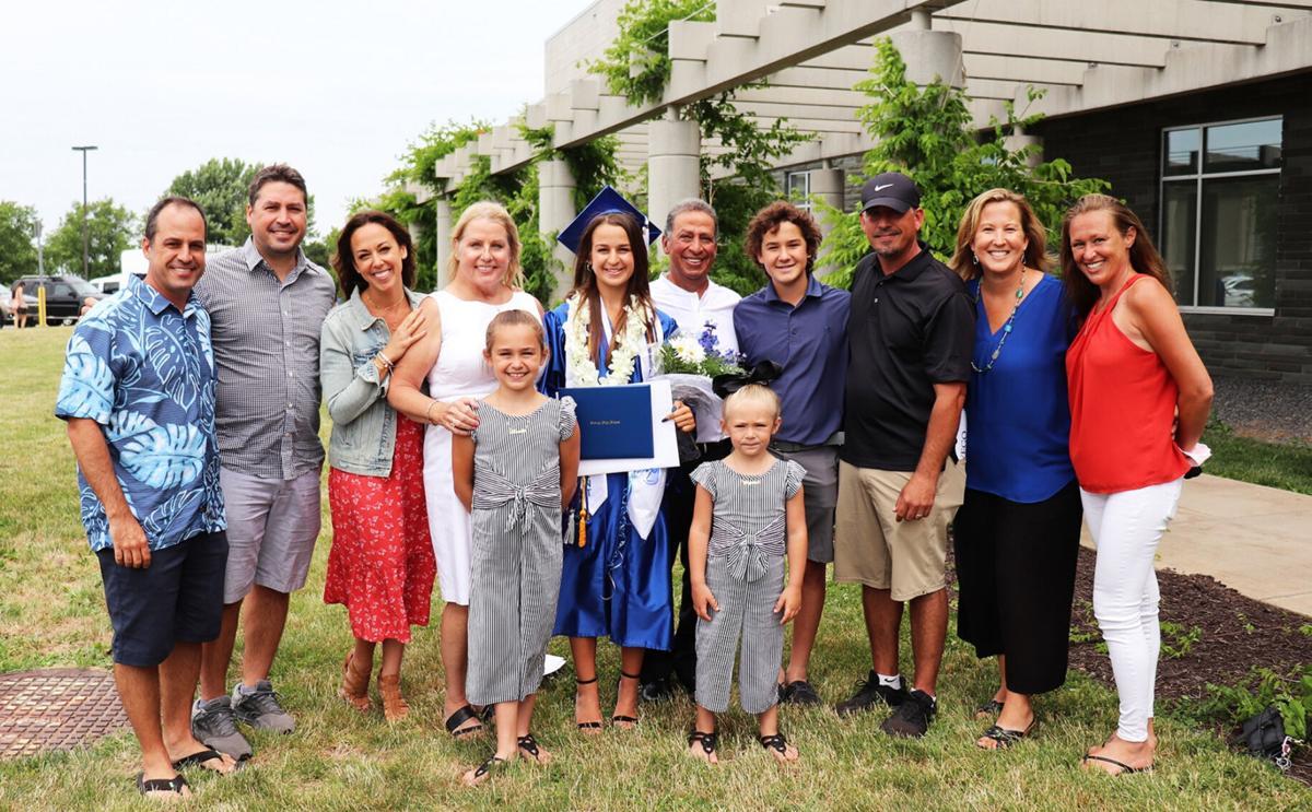 Oswego High School graduation