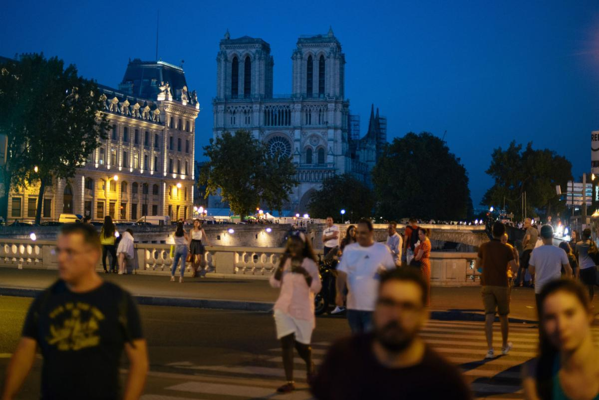 Notre Dame's toxic fallout in Paris