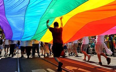 LGBTQ pride on 50th anniversary of Stonewall Uprising