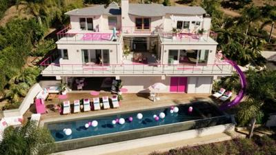 You can stay in Barbie's real-life Malibu Dreamhouse