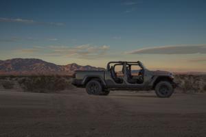 Mojave dunes await Jeep's newest Gladiator.