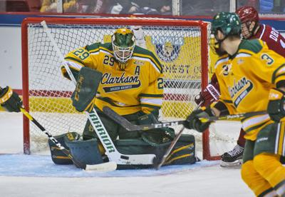 College men's hockey: Clarkson downs Harvard, will play Cornell for ECAC crown