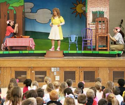 Lanigan primary students watch fairytale fun, learn lessons