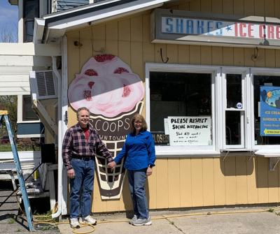 Scoops in Potsdam reopening in mid-May