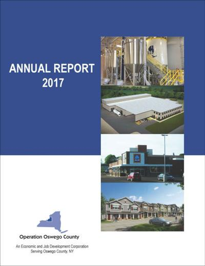 "Operation Oswego County's 2017 annual report receives ""excellence"" award"