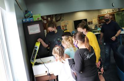 APW Elementary raises baby chicks, hands-on learning