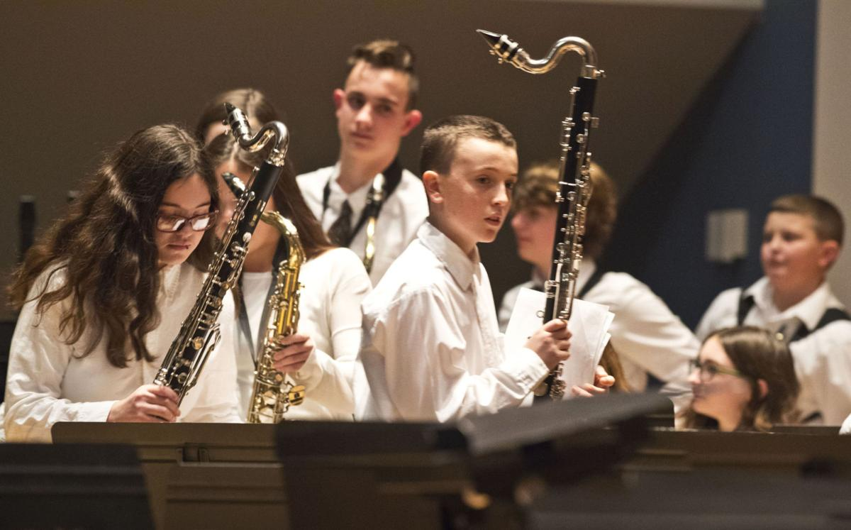 All County Bands perform at SUNY Potsdam