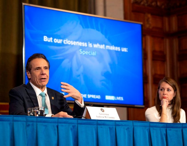 Cuomo assails federal coronavirus aid package