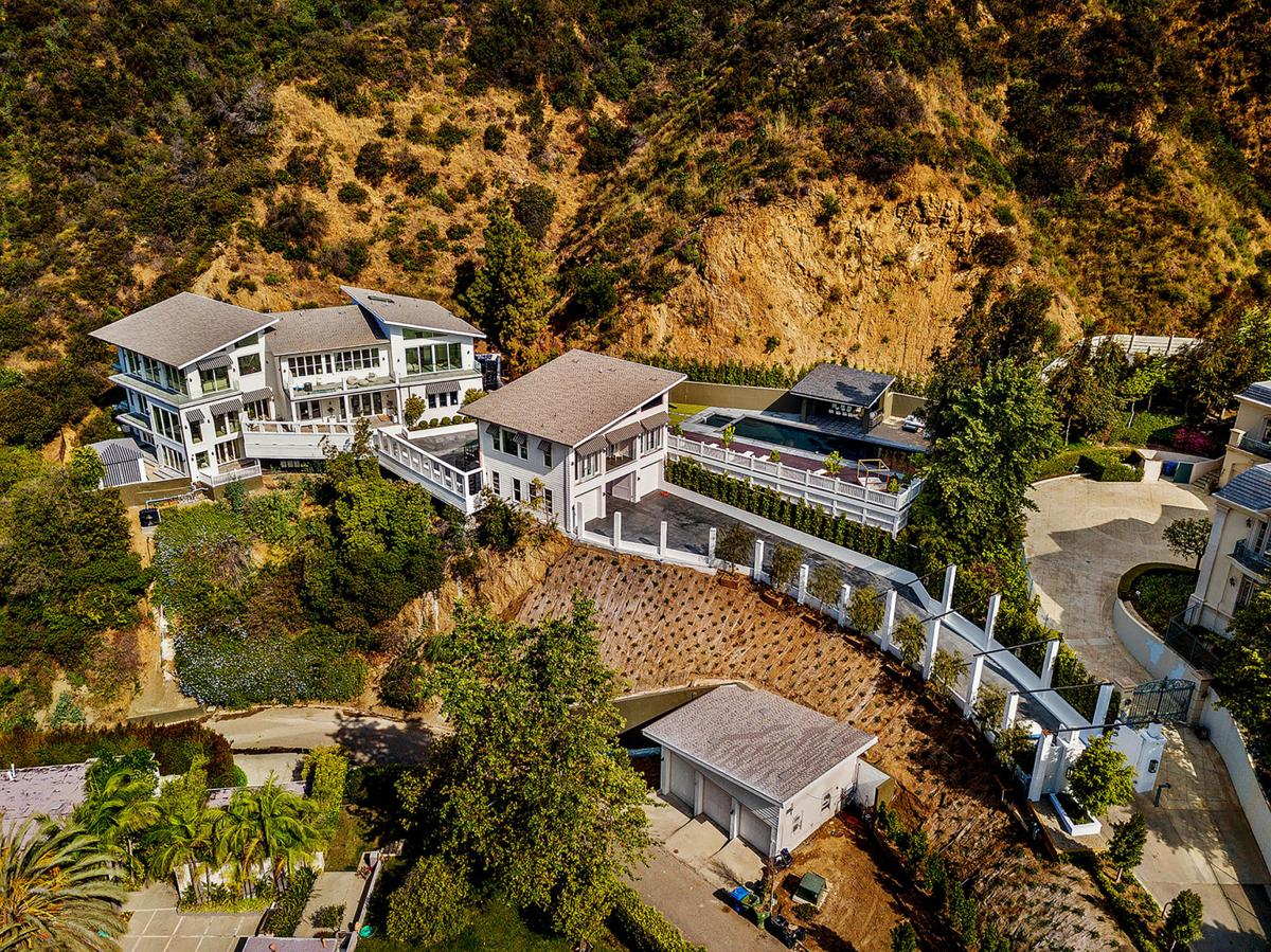 Tyga has a Bel-Air mansion to rap about