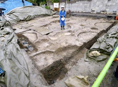 Possible ruins of ancient pagoda found