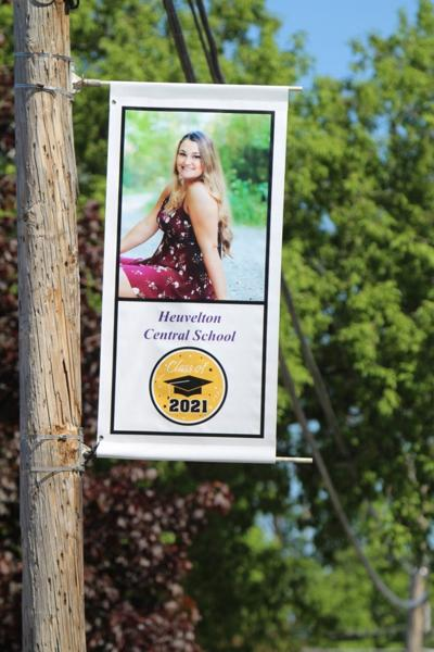 Heuvelton honors seniors with banners on State St.