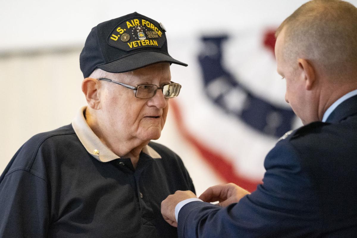 Veteran finally receives medal he earned 60 years ago