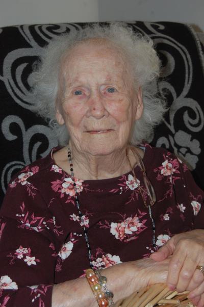 Marion Maxim celebrating 100th birthday on Monday