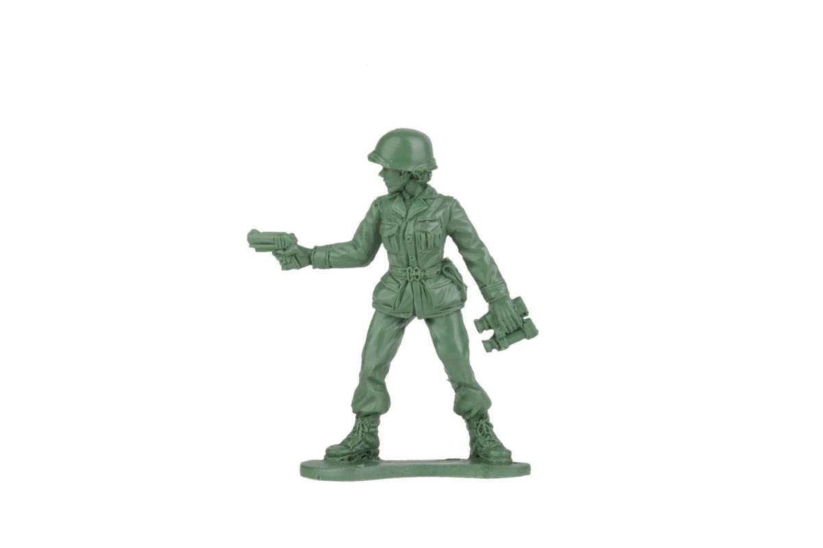 A 6-year-old asks why there are no female toy soldiers Now, there will be