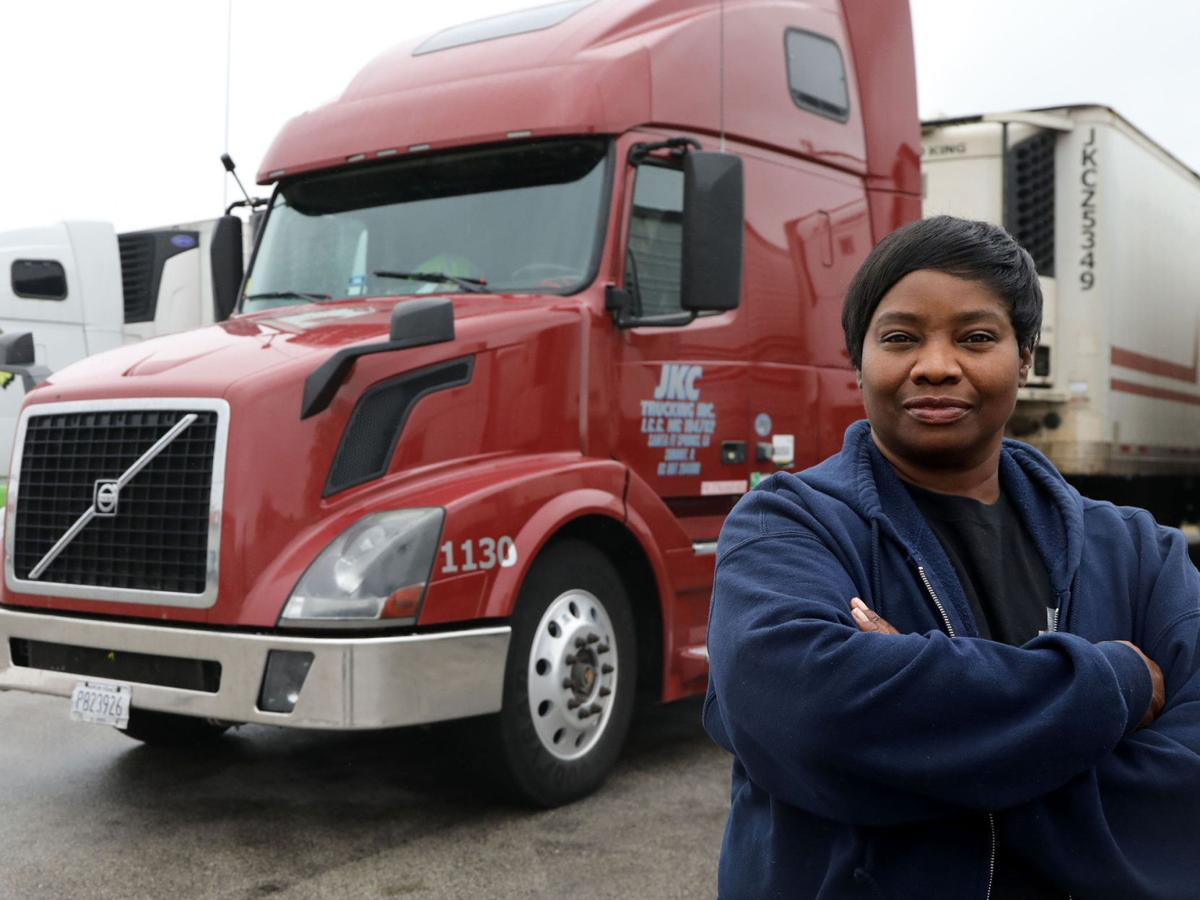 Truck drivers facing a rough road during pandemic