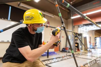 SUNY Canton places second in regional steel bridge competition