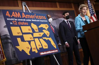 As Democrats bicker over massive spending plan, here's what's at stake for Medicaid