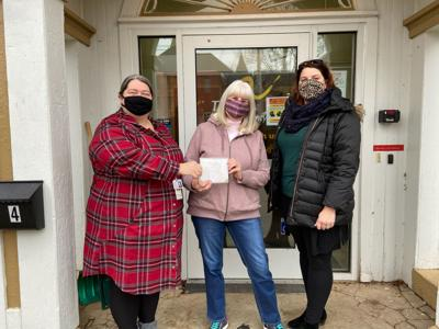 The Arc of Oswego County receives holiday donation