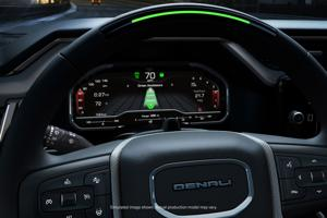 Here come the self-driving trucks: GMC Sierra goes hands-free.