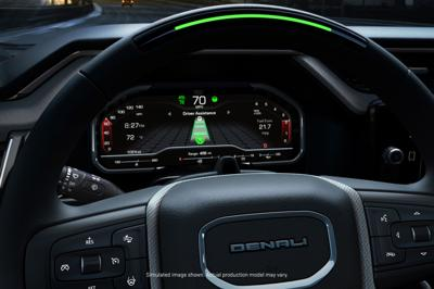 Here come the self-driving trucks: GMC Sierra goes hands-free