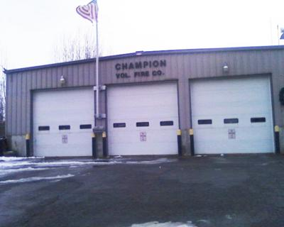 Champion Fire Company final dissolution approved