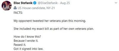 Stefanik guilty of stolen valor