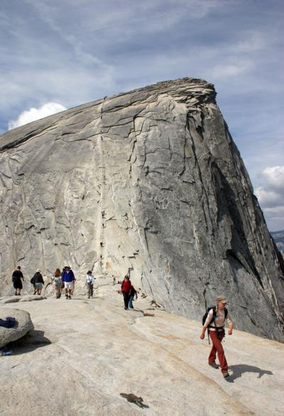 Hiker killed after falling 500 feet from Half Dome cables in Yosemite