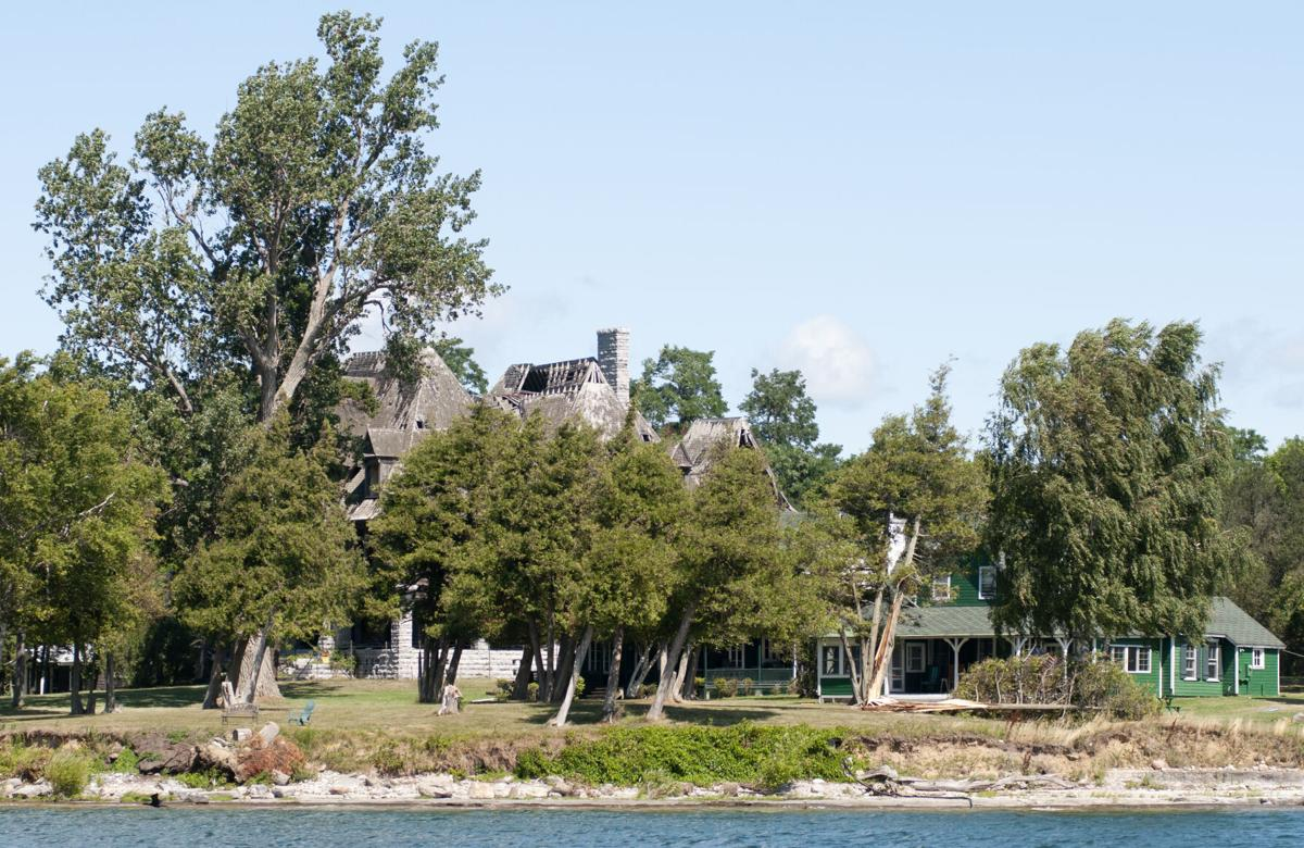 Tree damage on Carleton Island