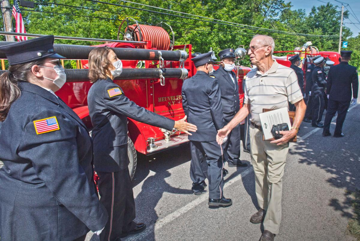 Fire department honors 'community pillar'