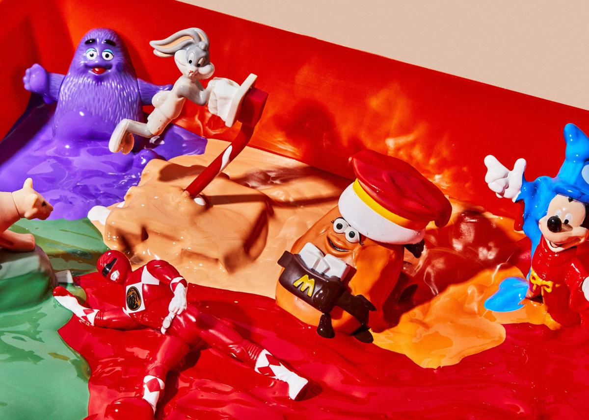 The Era of fast-food toys begins to melt away