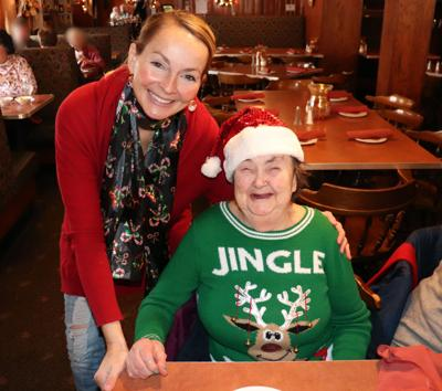 Family Care Program's holiday lunch outing