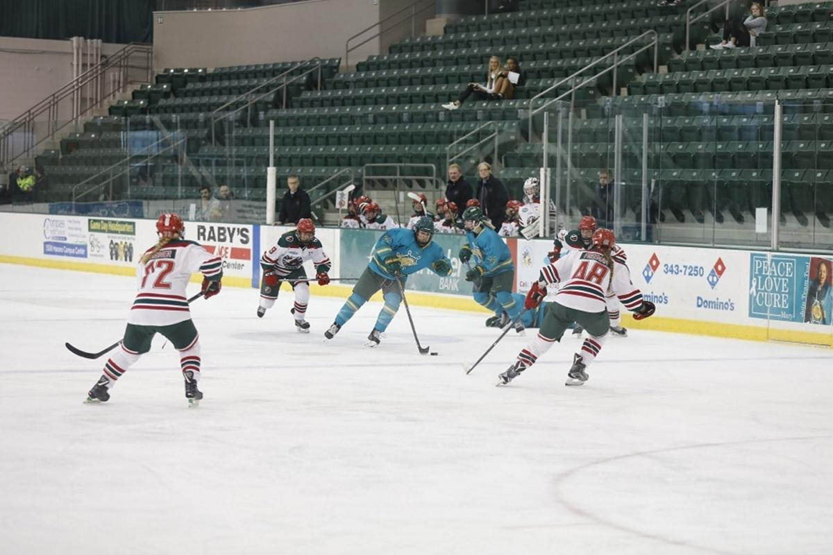 Culture building gives Oswego State women's hockey team competitive edge