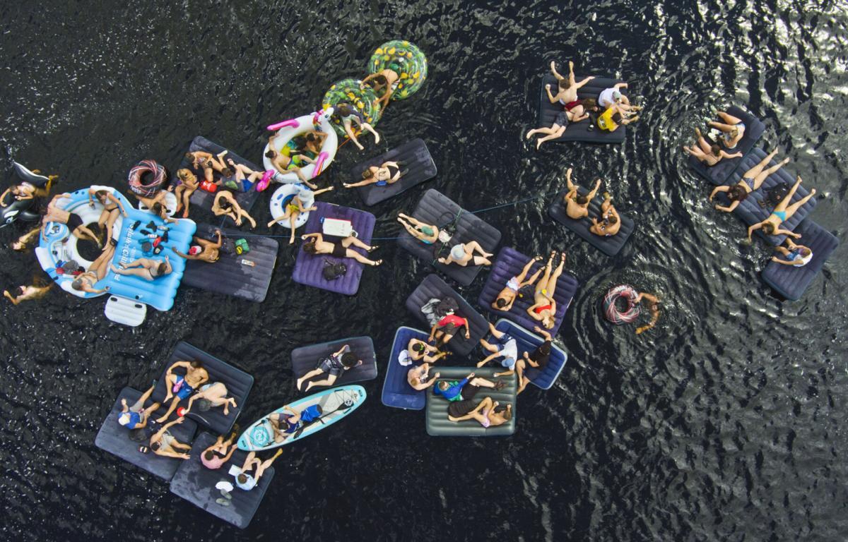 Potsdam's Float Fest buoys spirits